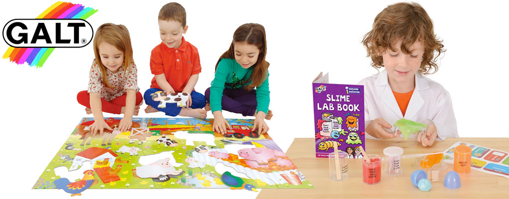 Galt products are designed to be fun and to encourage learning through play. image