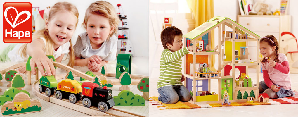 Hape toys are designed first and foremost for children image