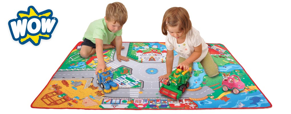 WOW Toys are colourful, super cute, character based vehicle play sets image