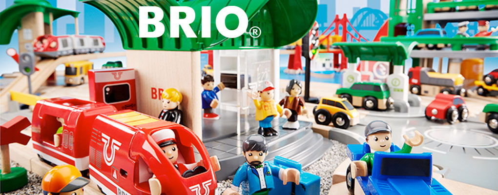 Brio's wooden railways have always been natural classics. image