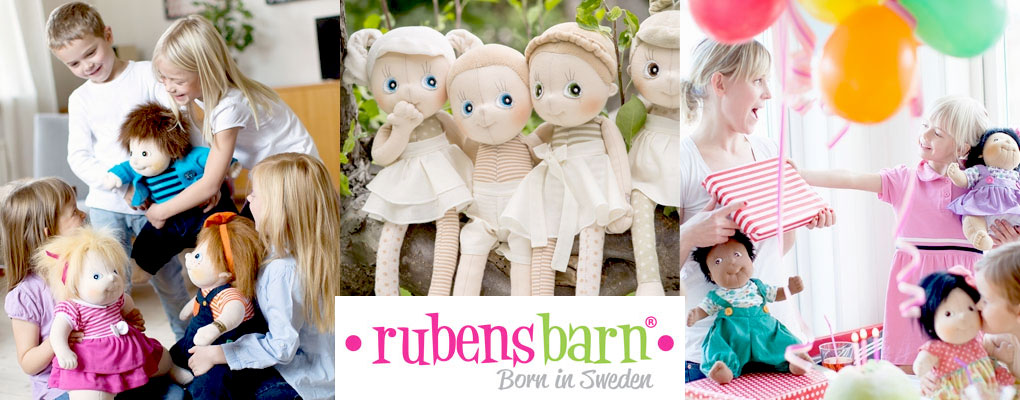 A Rubens Barn doll takes over 100 different steps by hand to create. image