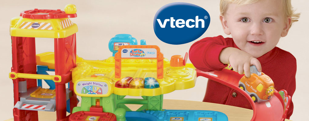 Vtech products enrich children's development through fun and smart play. image