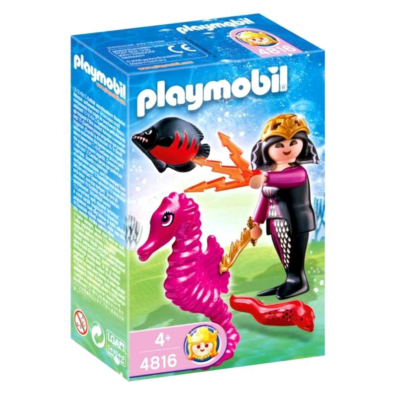 PLAYMOBIL Ocean Kingdom 4816 Magical Ocean Queen
