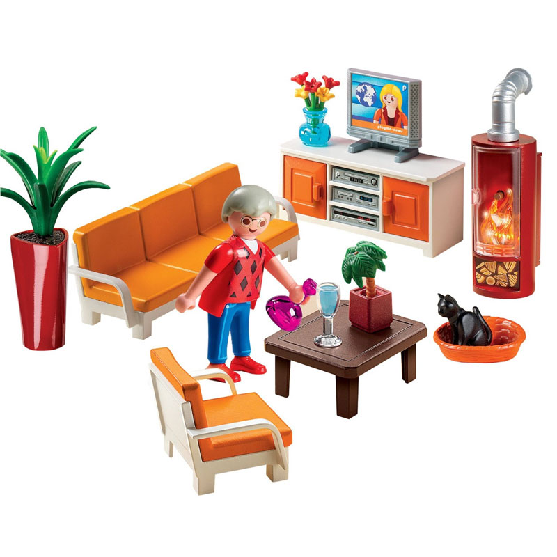 Playmobil Dollhouse 5332 Living Room