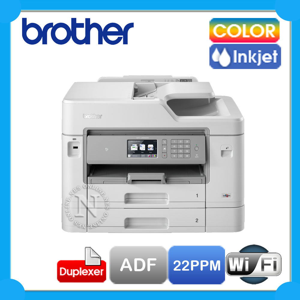 Details about Brother MFC-J5930DW 4in1 Wireless Inkjet Printer+A3 single  Print+Duplex+ADF