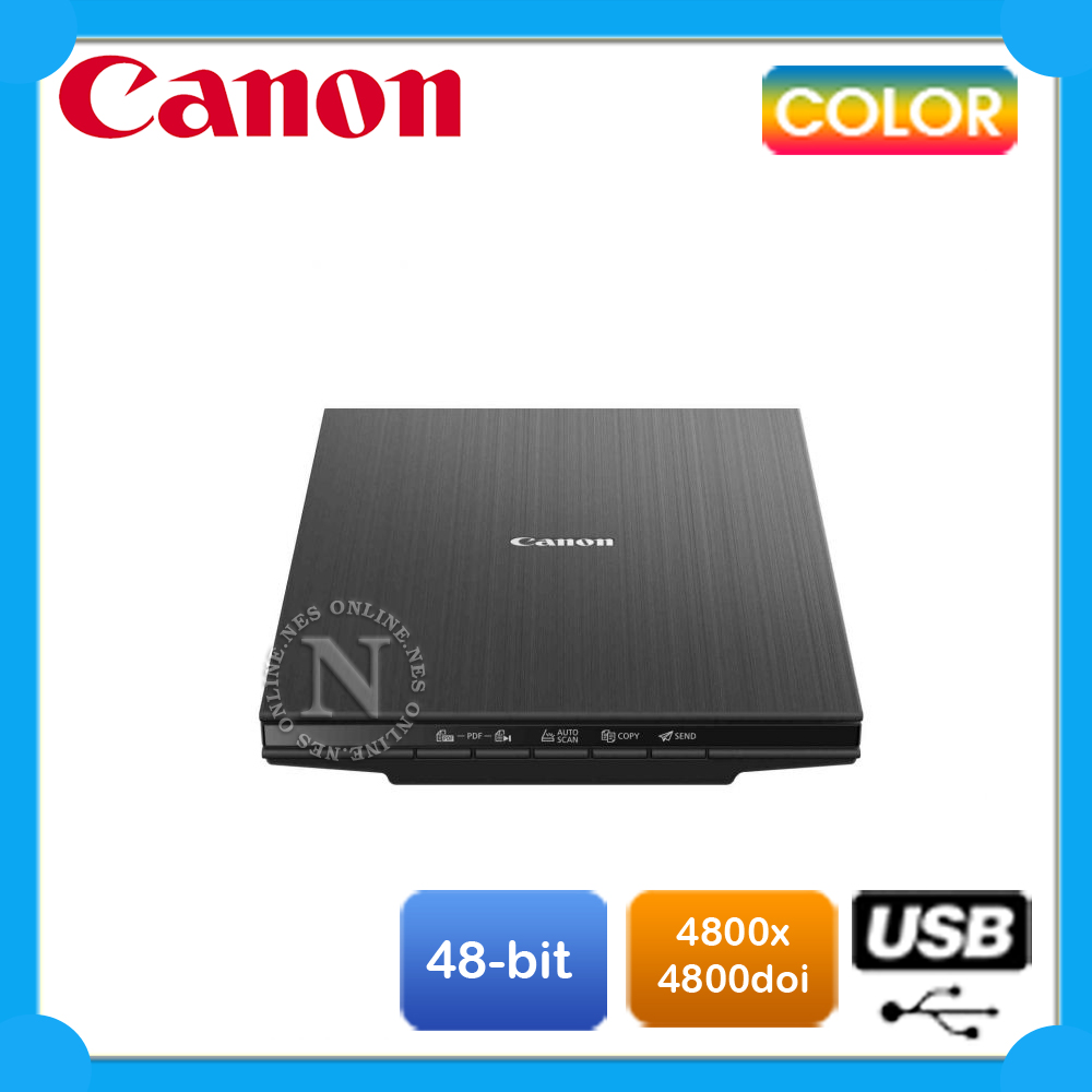 Details about Canon LiDE 400 Color Flatbed USB High-Speed Document & Photo  Scanner LIDE400 NEW