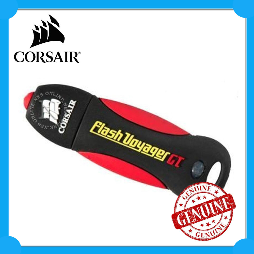 Corsair Voyager GT 16GB USB 2.0 Plug Play Shock Proof Flash Drive with  Lanyard d3ec676bbf4e