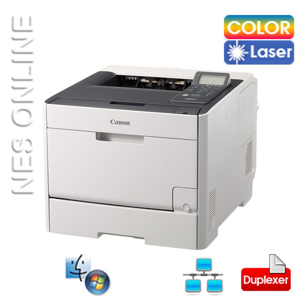 Canon LBP7680CX Workhorse Colour Laser Network Printer+Auto Depluxer /w CART318