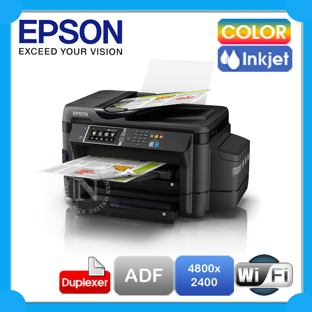 Epson ET-16500 4-in-1 A3/A4 Wireless Refillable Ink Tank Printer+