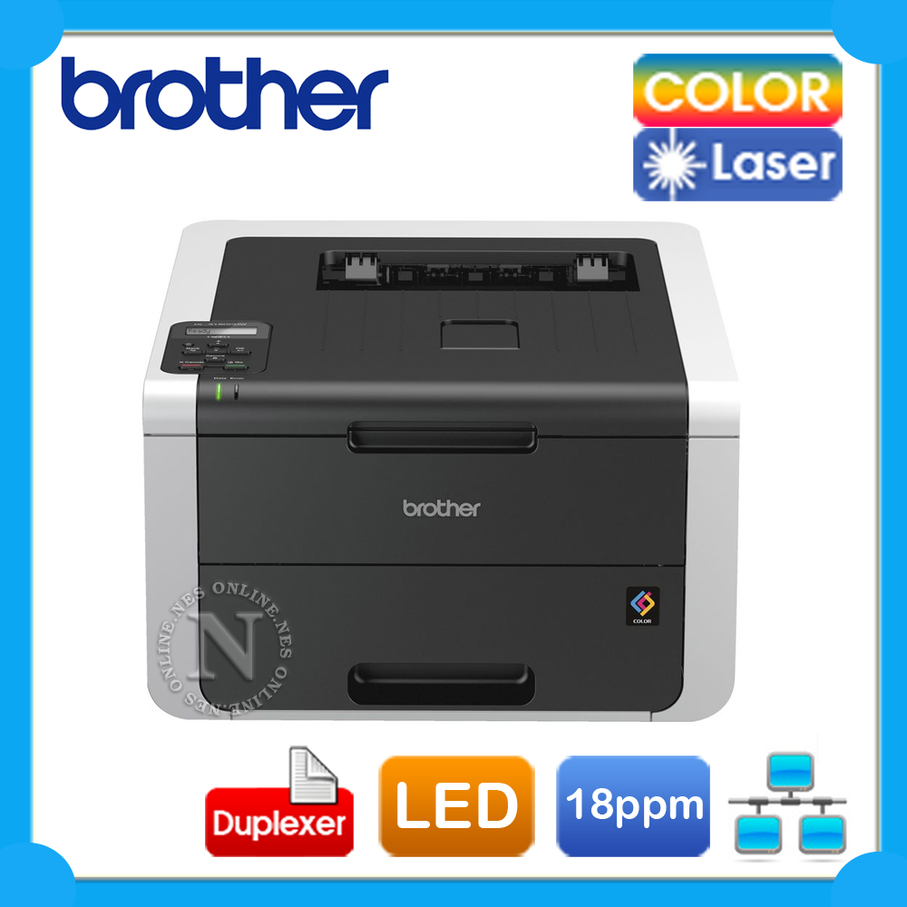 how to set up brother printer on the network
