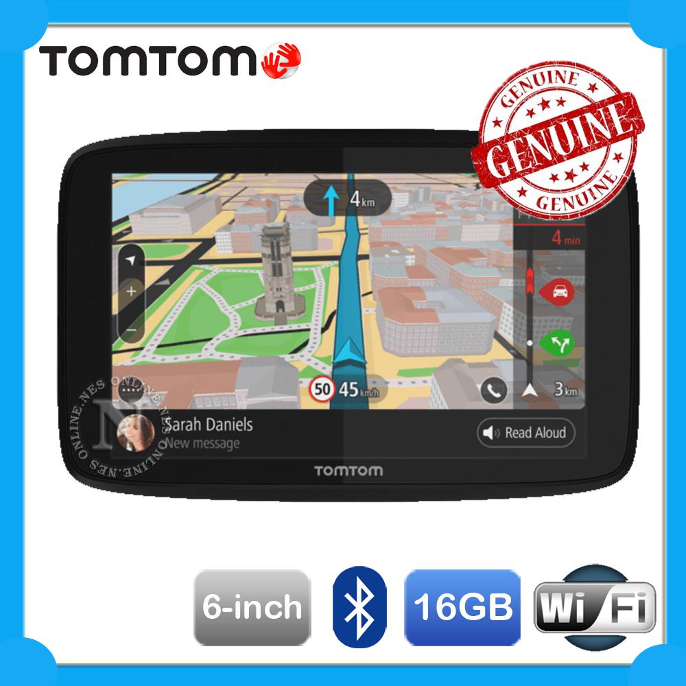 tomtom go 620 6 wifi 16gb gps navigation system hands free calling lifetime map 63692604659 ebay. Black Bedroom Furniture Sets. Home Design Ideas