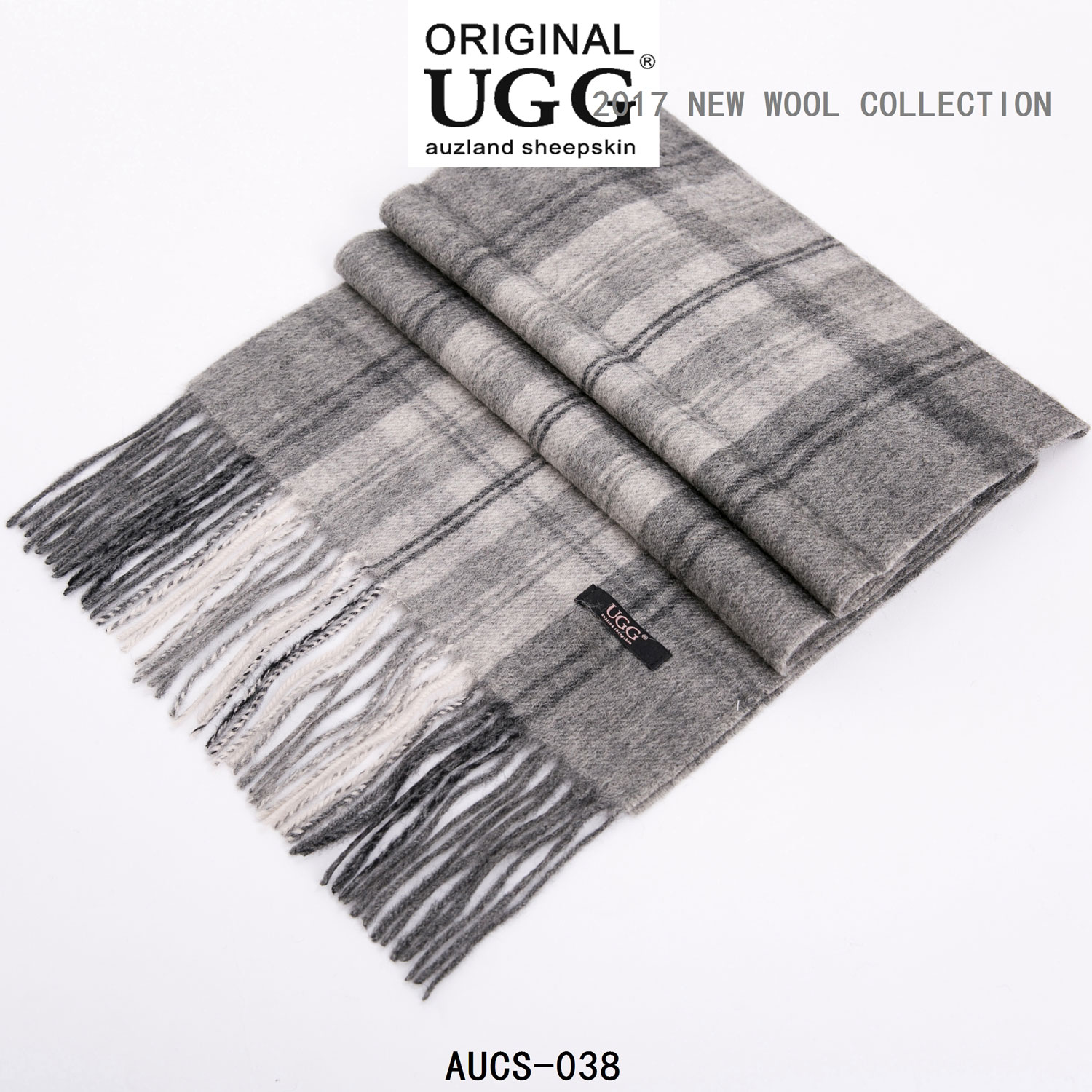 Ugg Auzland Pure Wool Scarf With Fringe Wrap180cm X 30cm Soft It Classic Aussie A Is An Instant Warm And Perfect Gift For Loved One Or Yourself Material 100