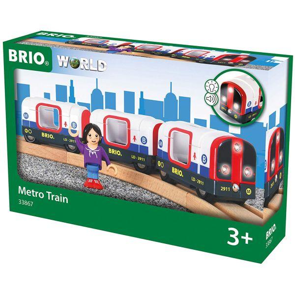 5 pcs BRIO 33505 Travel Train Railway Trains Age 3-5 Years