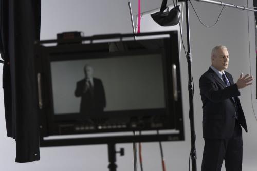 Dr Richard Shrapnel PhD image at film studio