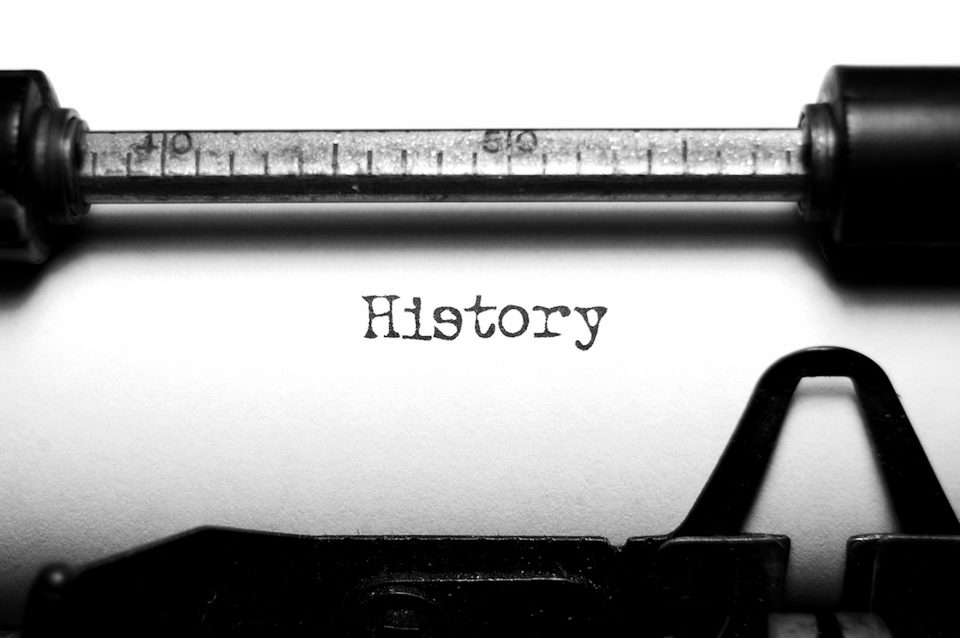 'We All Have A History' by Richard Shrapnel