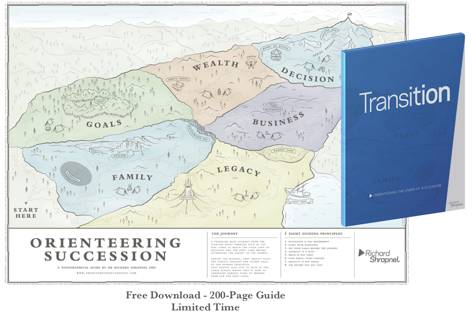 Richard Shrapnel's 'Transition Digital Version' Free Offer December 2018