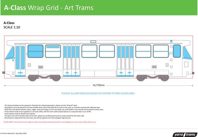 A-Class Wrap Grid - Art Tram