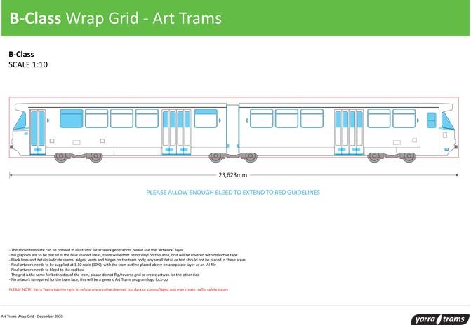 B-Class Wrap Grid - Art Tram