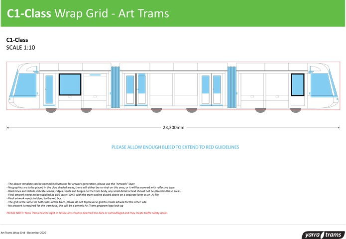 C1-Class Wrap Grid - Art Tram