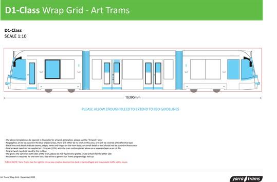 D1-Class Wrap Grid - Art Tram