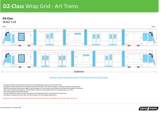 D2-Class Wrap Grid - Art Tram