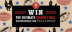 Win the ultimate Grand Final experience