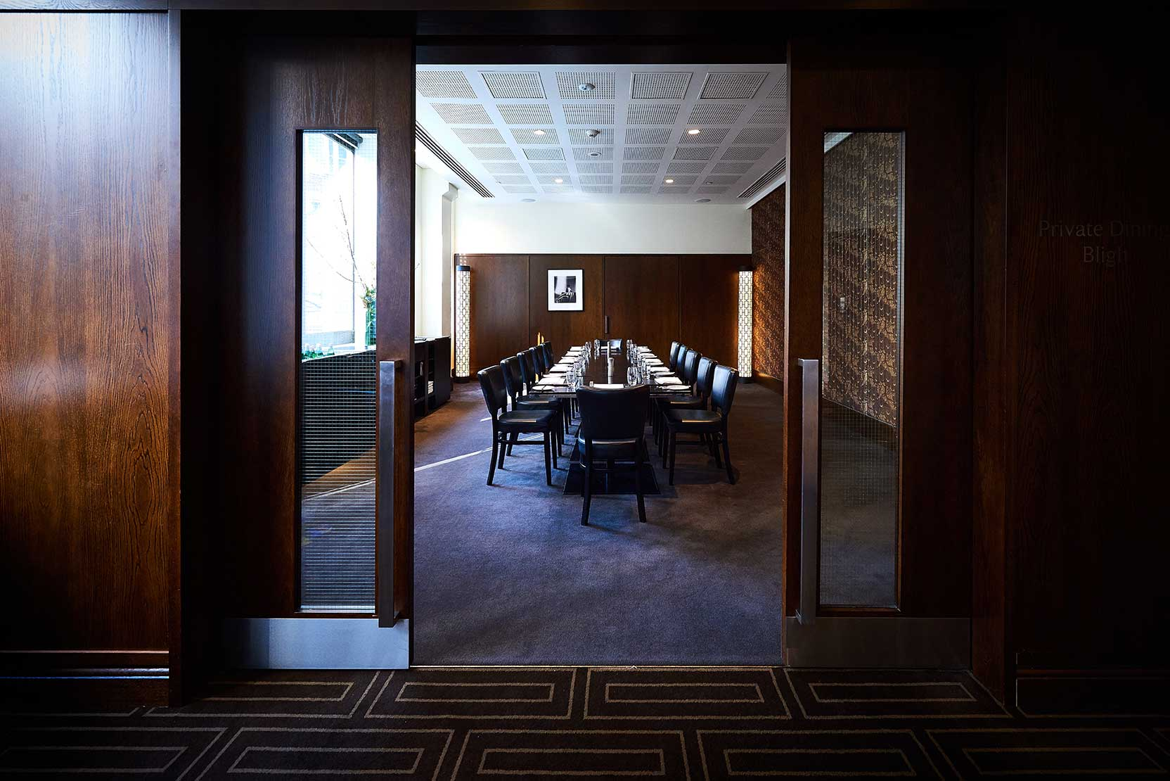 Rockpool-Bar-Grill-Sydney-function-space-Bligh-Room