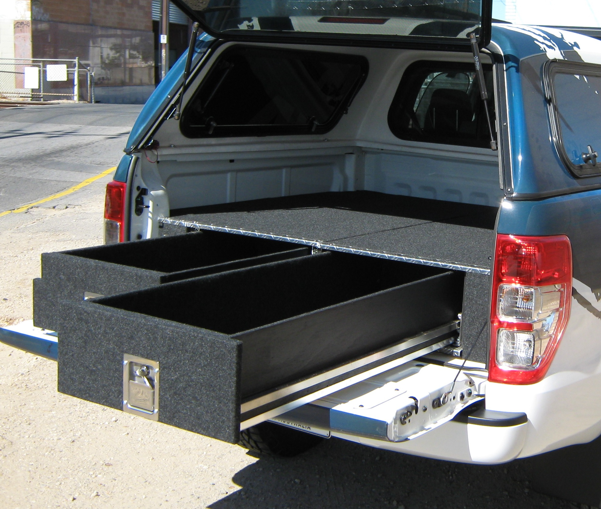 Holden Colorado RG 2012on. Ute Twin Drawer Storage System