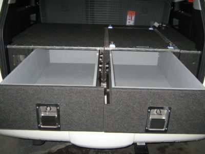 Mitsubishi Pajero Nm Nt 4wd Twin Drawer Storage System