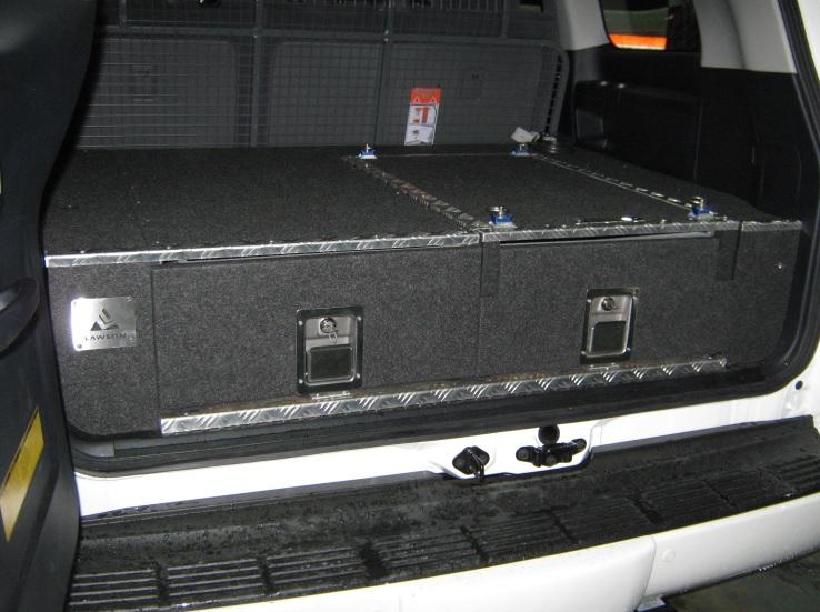 Nissan Gq Patrol 4wd Twin Drawer Storage System Roof