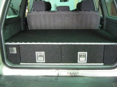 Nissan Gq Patrol 4wd Twin Drawer Storage System Roof