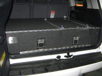 Toyota Landcruiser 200 Series 4wd Twin Drawer Storage System Roof Rack World