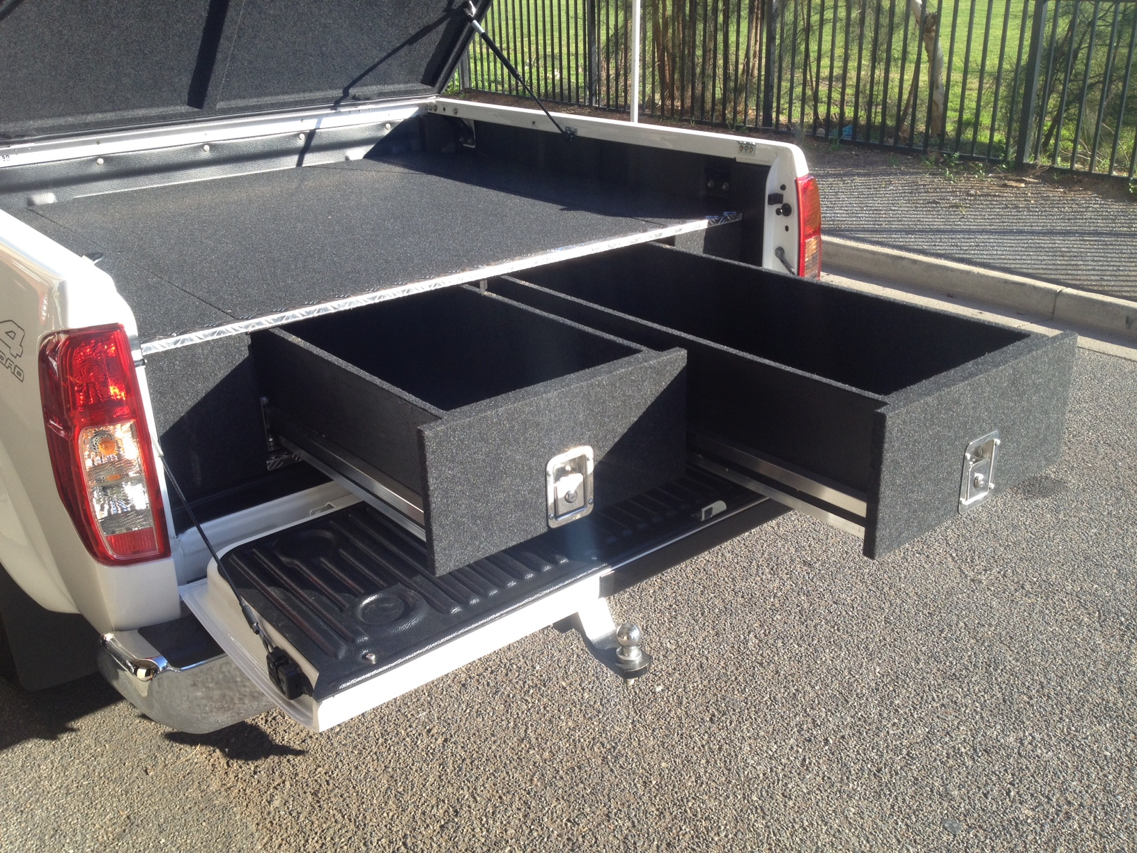 Nissan Navara D20 D22 Ute Twin Drawer Storage System