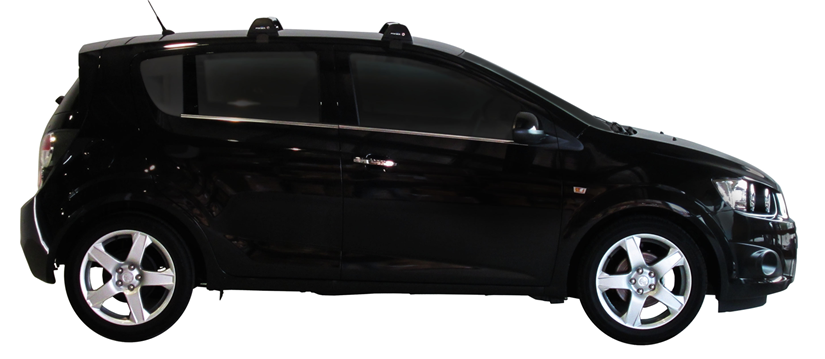 Holden Barina 5dr Hatch Tm 11 11on Whispbar Roof Racks Pr