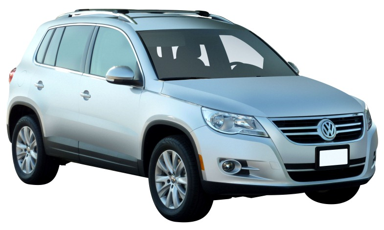 Volkswagen Tiguan 4dr Suv With Roof Rails 05 08on Whispbar
