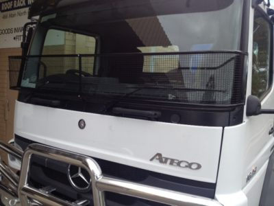 Stone Guard Mercedes Atego Axor Black Mesh Windscreen