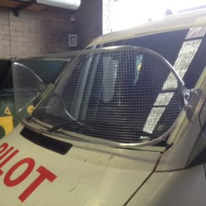 Stone Guard Mercedes Sprinter Silver 450mm Mesh Windscreen