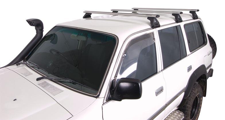 Yakima Roof Bike Rack >> Toyota Land Cruiser 4dr 4WD 80 Series 05/90-03/98 Rhino-Rack Vortex Roof Racks (3 bar) - Roof ...