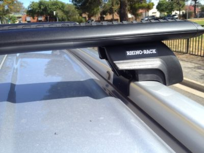 Mitsubishi Outlander 4dr Wagon With Flush Rails ZJ 11/12on Rhino Vortex Roof  Rack (pr)