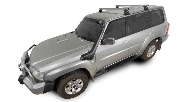 Nissan Patrol 4dr 4wd Lwb Gu 12 97on Rhino Rack Commercial