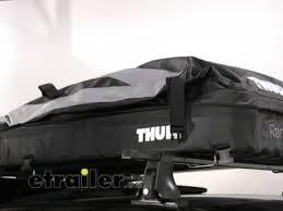 thule 601100 ranger 90 foldable roof box 280 litres roof. Black Bedroom Furniture Sets. Home Design Ideas