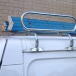 Utility Alloy Tray Sleeved Pocketed Roof Rack Ea
