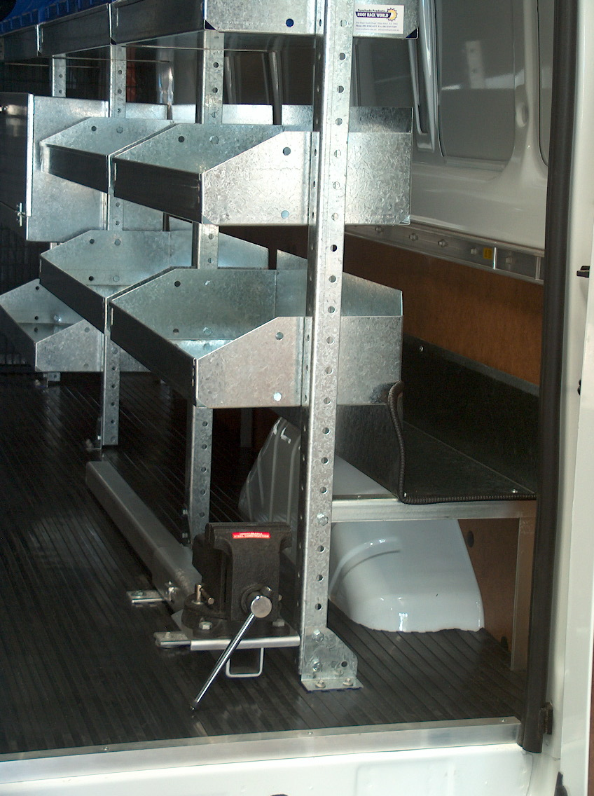Internal Van 100mm Sliding Pullout Vise Roof Rack World