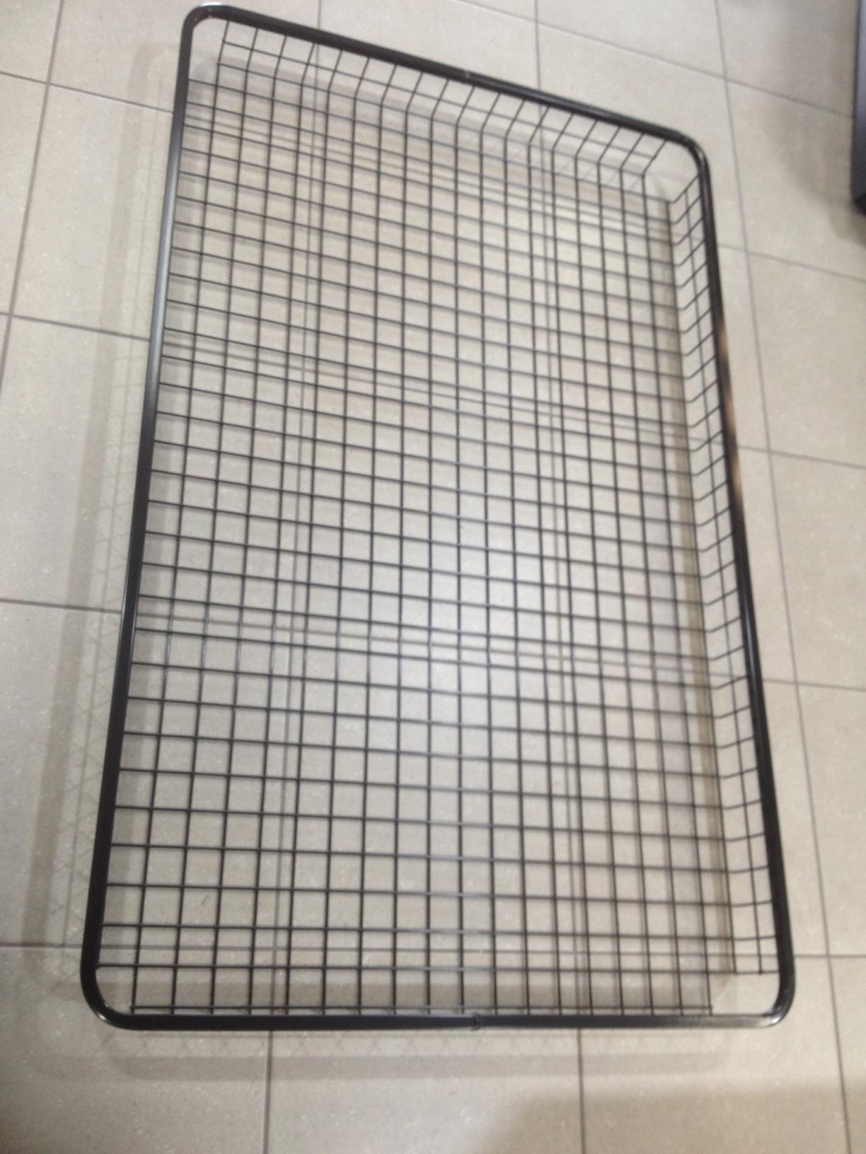Steel Mesh Luggage Tray Basket Narrow 2200 X 450 X 120mm
