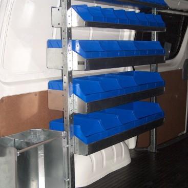 Electricians Shelving Kit Hyundai Iload 1 X 1030mm Bay
