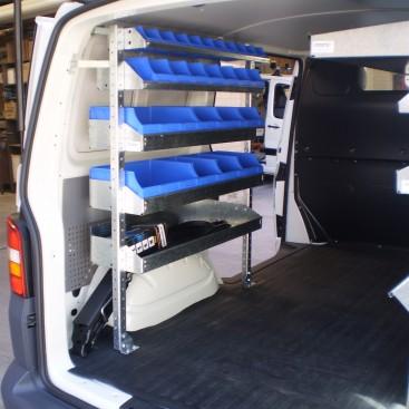 Starter Shelving Kit Hiace 1 Bay X 1030mm Roof Rack World