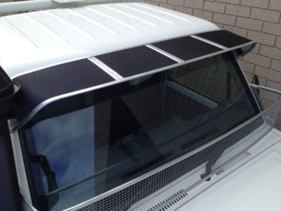 Toyota Land Cruiser 2016 Mesh Windscreen Sunvisor Toyota Landcruiser 70-79 Series ...