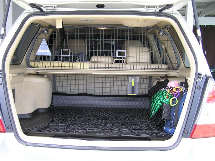 Subaru Forester 03 08 12 12 Milford Cargo Barrier Roof