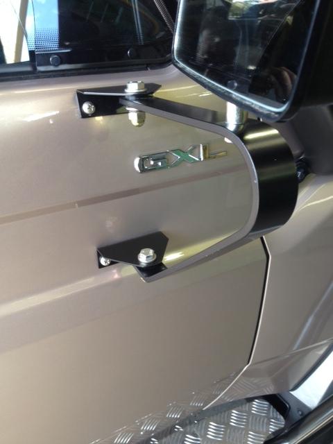 Aussie Cm2020 Ute Traytop Swingaway Door Mirror Each