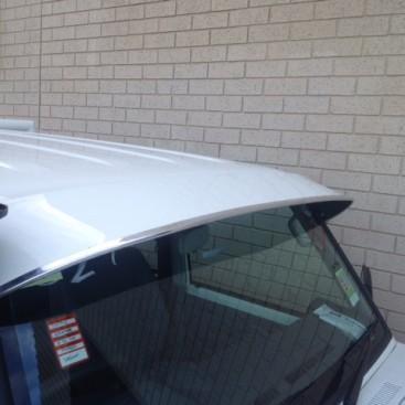 Solid Windscreen Sunvisor Toyota Land Cruiser Ute 9aa7bfff813